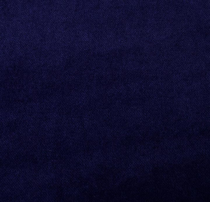 cotton velvet blue fabric. Black Bedroom Furniture Sets. Home Design Ideas