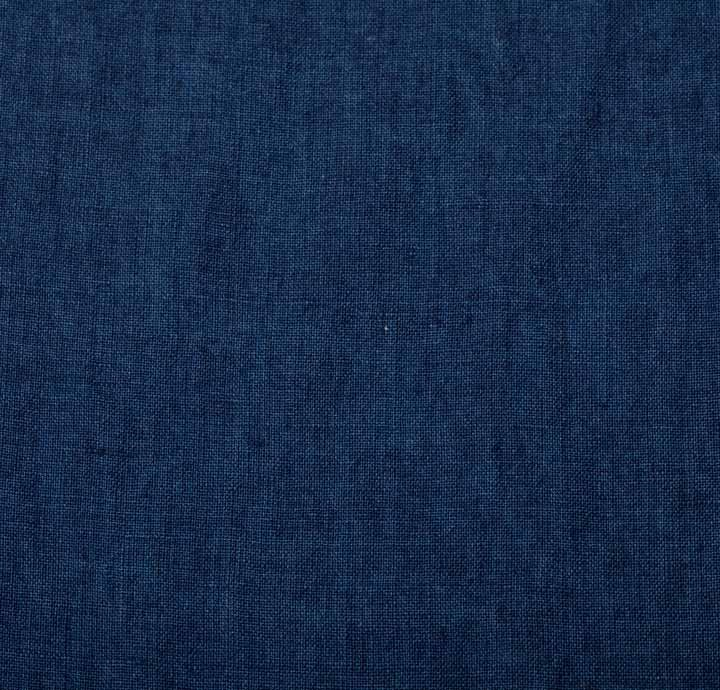 Cotton Linen Blue Fabric