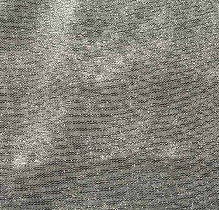 polyester lurex silver fabric