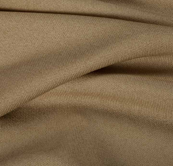 wool rayon blend brown fabric