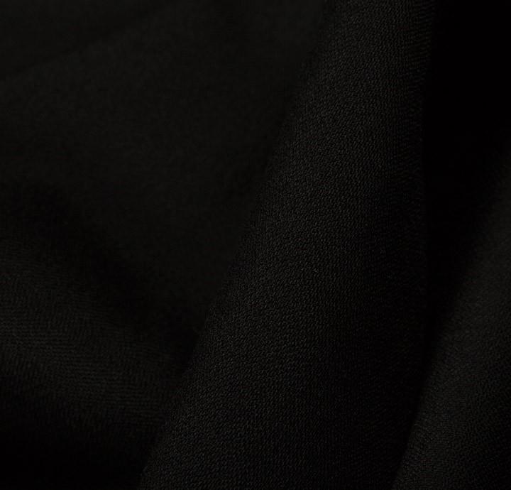 Oldgate Superfine Wool Black Fabric