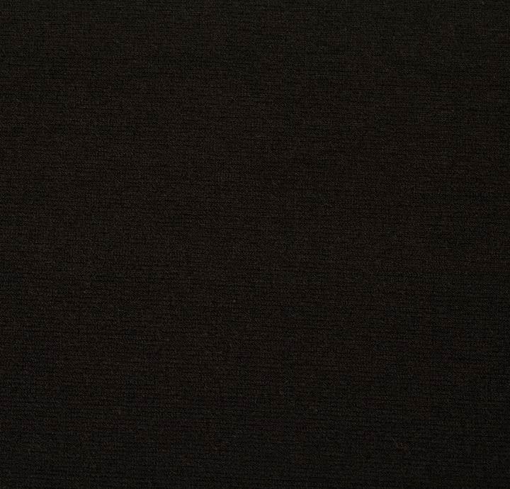 Mario Boselli Jersey Black Fabric