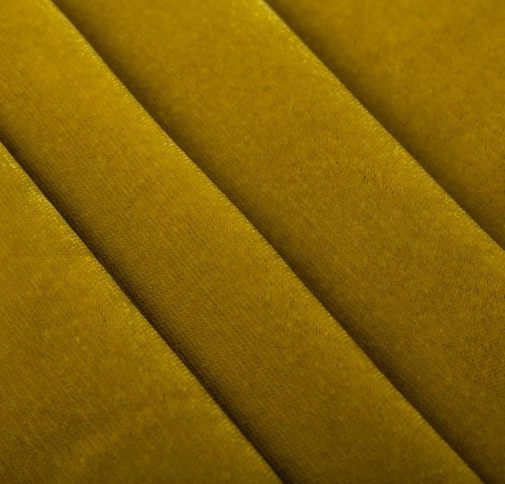 Cotton velvet green fabric cotton fabric for Fabric material for sale