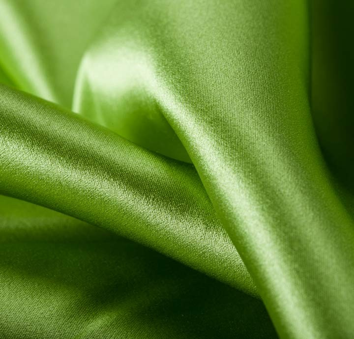 100 silk satin green fabric silk fabric