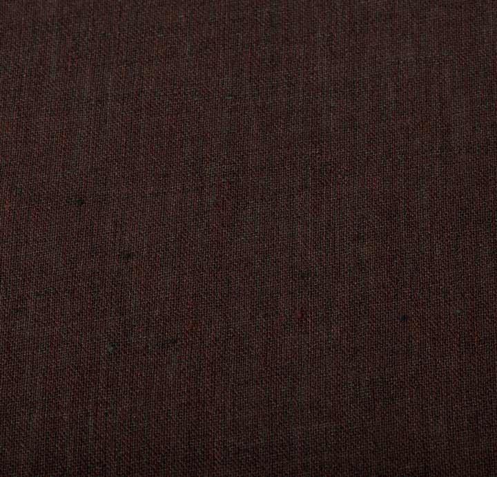 Solbiati 100 linen brown fabric linen fabric for Linen fabric