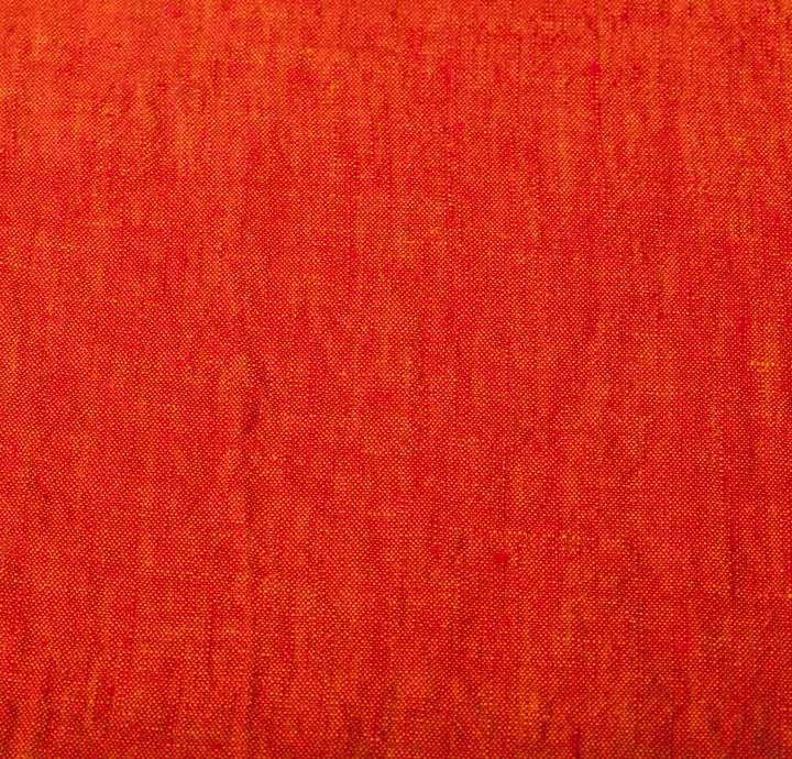 Solbiati 100 Linen Orange Fabrics Orange Fabrics Colour